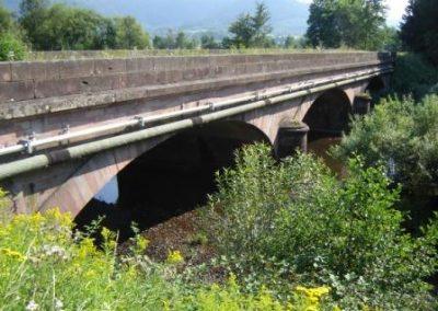 Le pont Saint Michel sur Meurthe