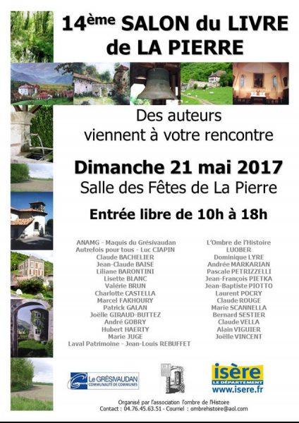 Salon du livre La Pierre 2017