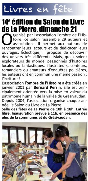 Grésivaudan Magazine N°69 Mai 2017