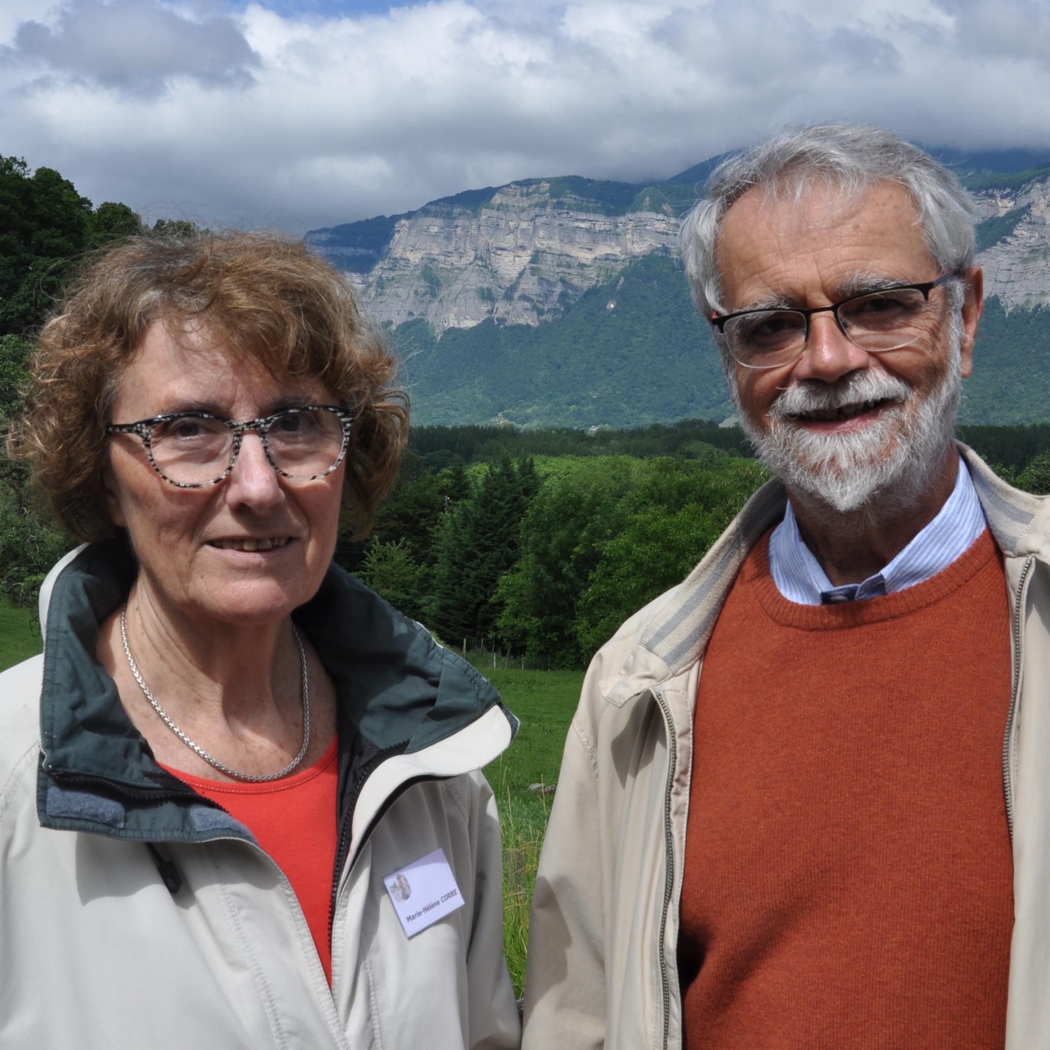 Marie-Hélène et Jean-Paul Corré