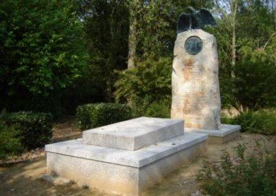 La tombe du Prince Murat, à Lyons